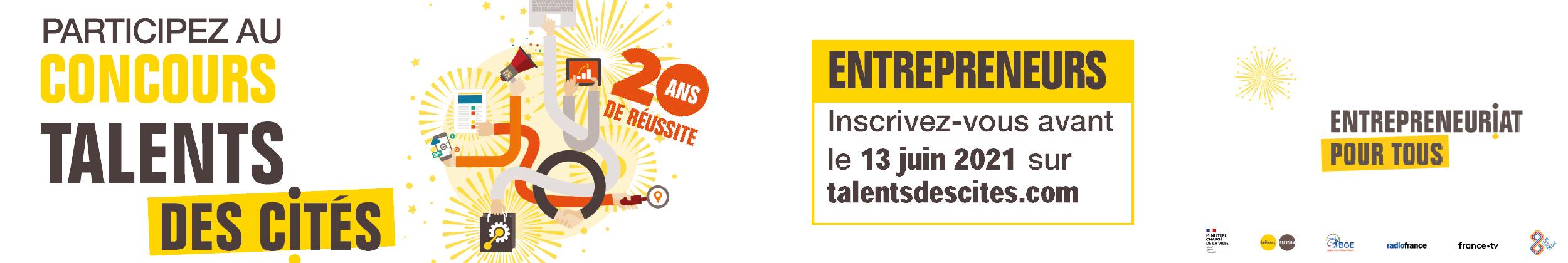 Bannière accueil sites web - Talents des Cités 2021- CB 100521_Plan de travail 1